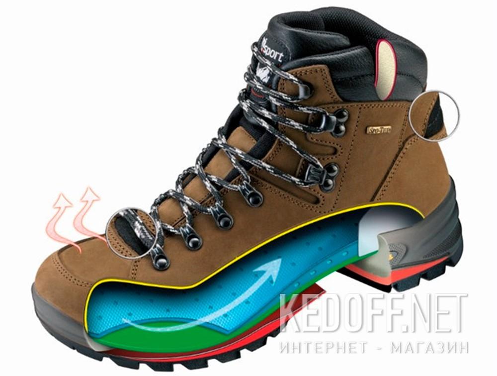 Мужские ботинки Grisport 12925-O15G   (чёрный) все размеры