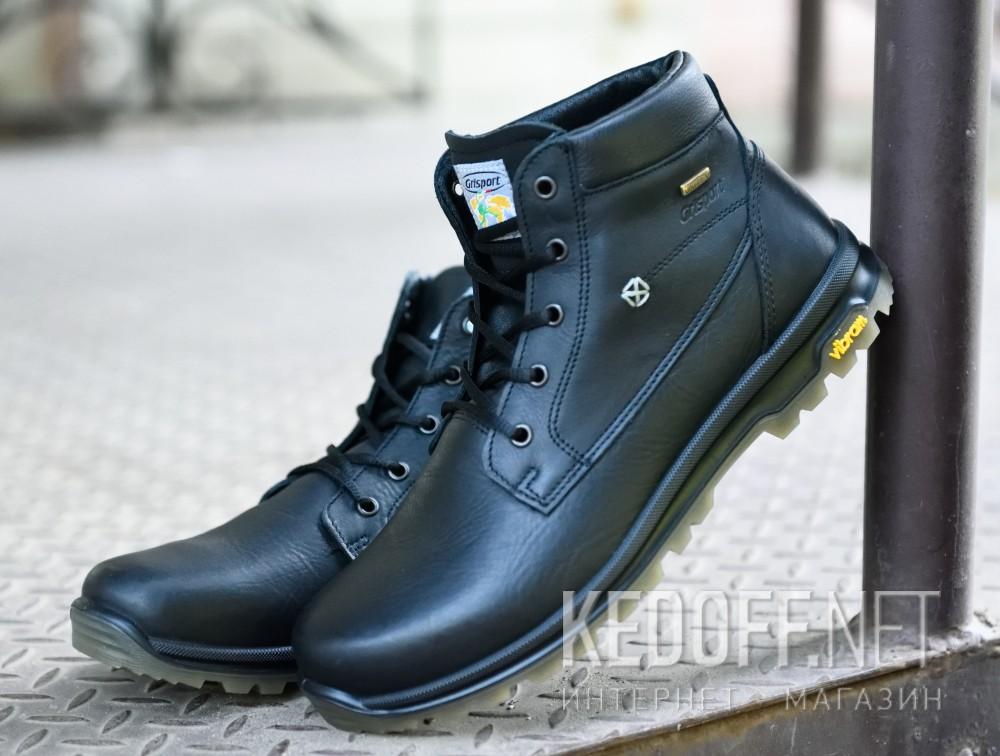 Мужские ботинки Grisport 12925-O15G   (чёрный) доставка по Украине