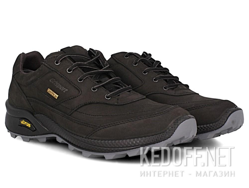 Оригинальные Мужские кроссовки Grisport Gritex Vibram 13109-S7g Made in Italy   (чёрный)