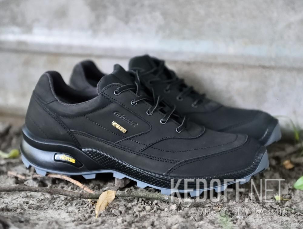 Мужские кроссовки Grisport Gritex Vibram 13109-S7g Made in Italy   (чёрный) все размеры