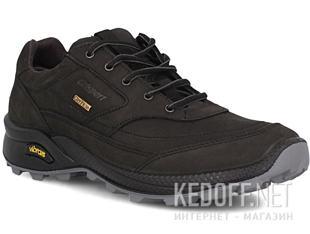 Купить Мужские кроссовки Grisport Gritex Vibram 13109-S7g Made in Italy   (чёрный)
