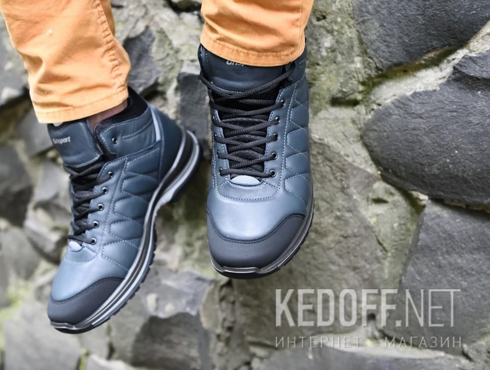 Мужские ботинки Grisport 13917-D13g   (тёмно-синий) все размеры