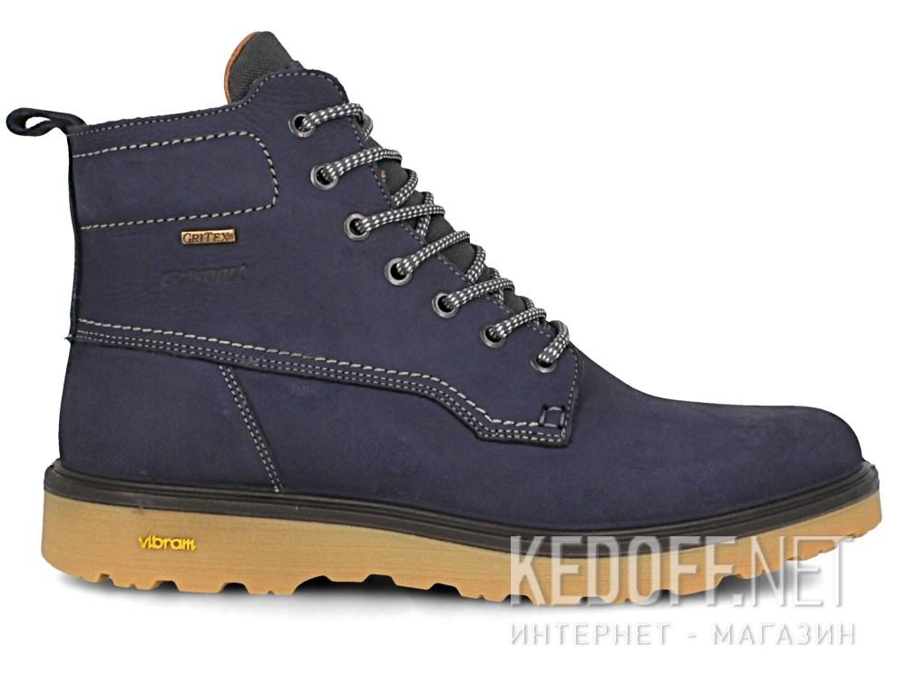 Мужские тимберленды Grisport Gritex Vibram 40203-N58lg Made in Italy   (синий)