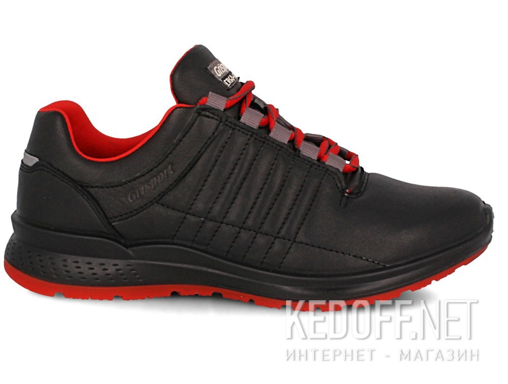Кроссовки Grisport Ergo Flex 42811-D18 унисекс   (чёрный/красный) купить Киев