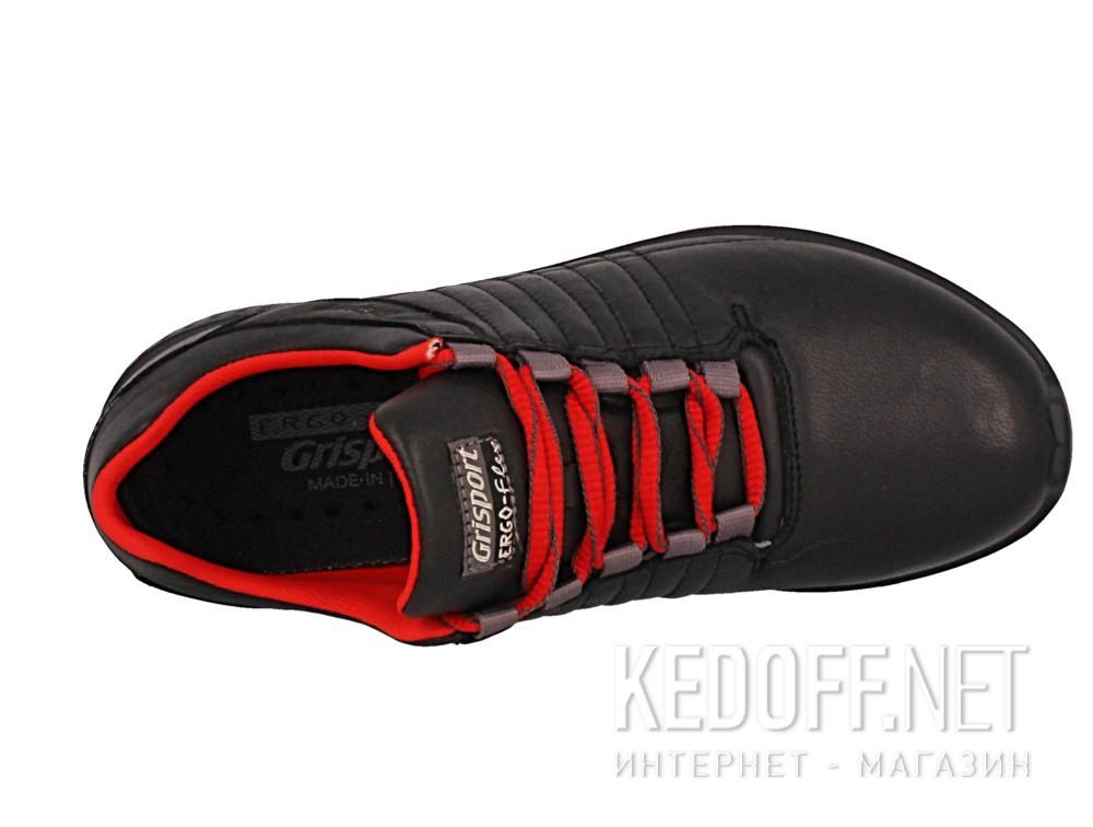 Кроссовки Grisport Ergo Flex 42811-D18 унисекс   (чёрный/красный) описание