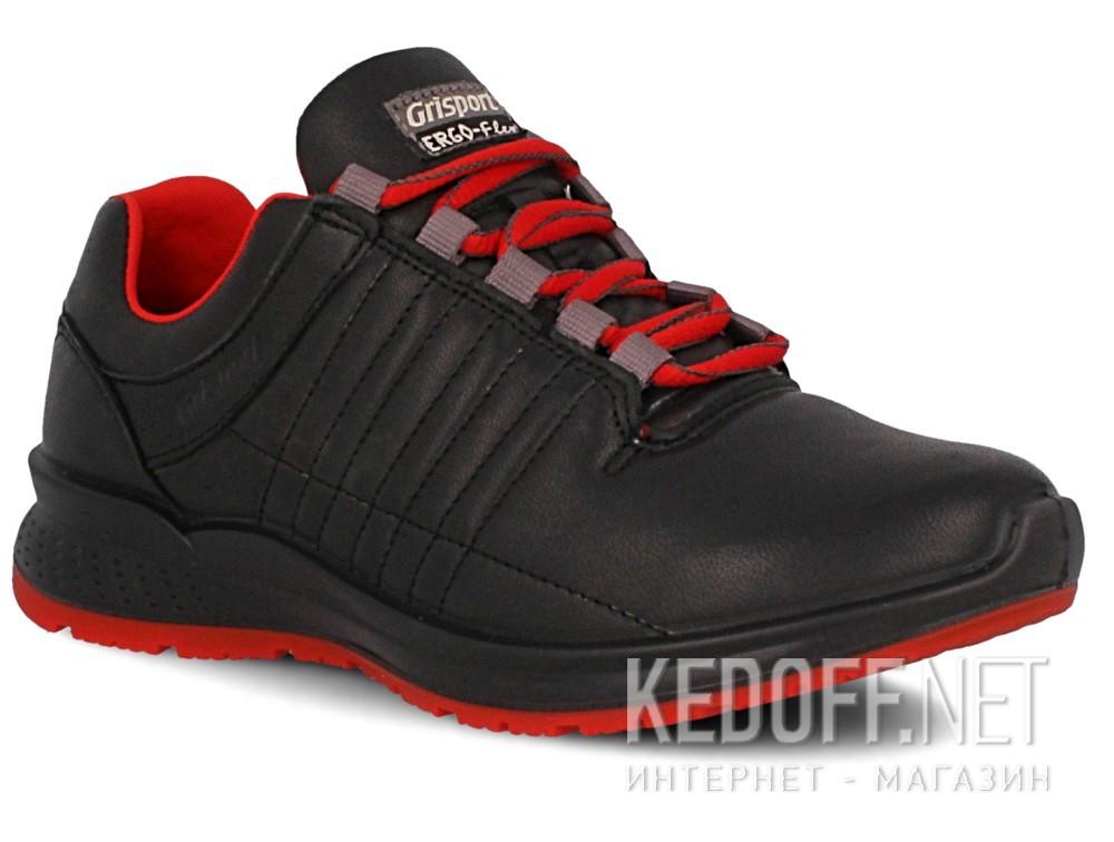Купить Кроссовки Grisport Ergo Flex 42811-D18 унисекс   (чёрный/красный)