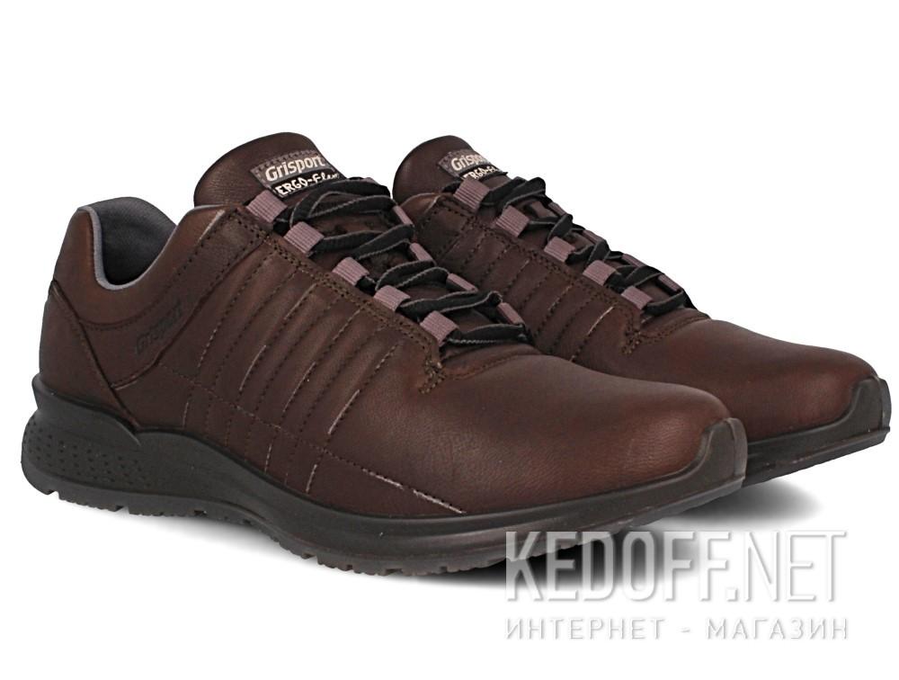 Оригинальные Мужские кроссовки Grisport Ergo Flex 42811-D24   (тёмно-коричневый)