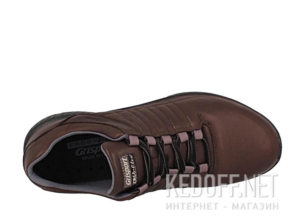 Мужские кроссовки Grisport Ergo Flex 42811-D24   (тёмно-коричневый) описание