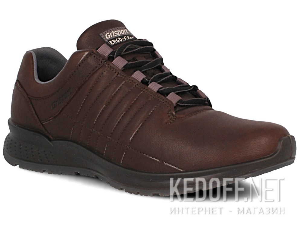Купить Мужские кроссовки Grisport Ergo Flex 42811-D24   (тёмно-коричневый)