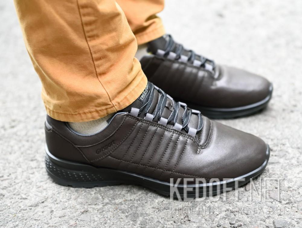 Мужские кроссовки Grisport Ergo Flex 42811-D24   (тёмно-коричневый) все размеры