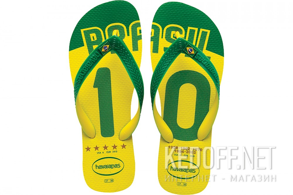 В'єтнамки Havaianas Team Brasil