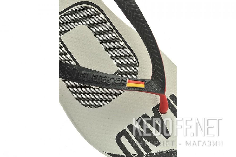 Пляжная обувь Havaianas 6 унисекс   (чёрный/белый) описание