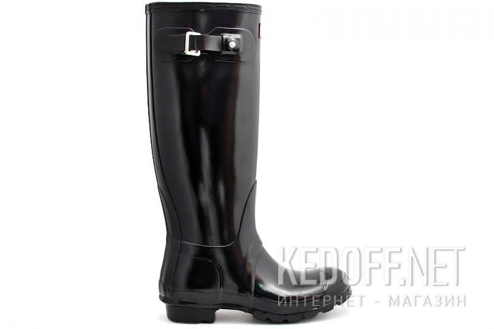 Оригинальные Женские резиновые сапоги Hunter Original Tall Gloss 23616-2   (чёрный)