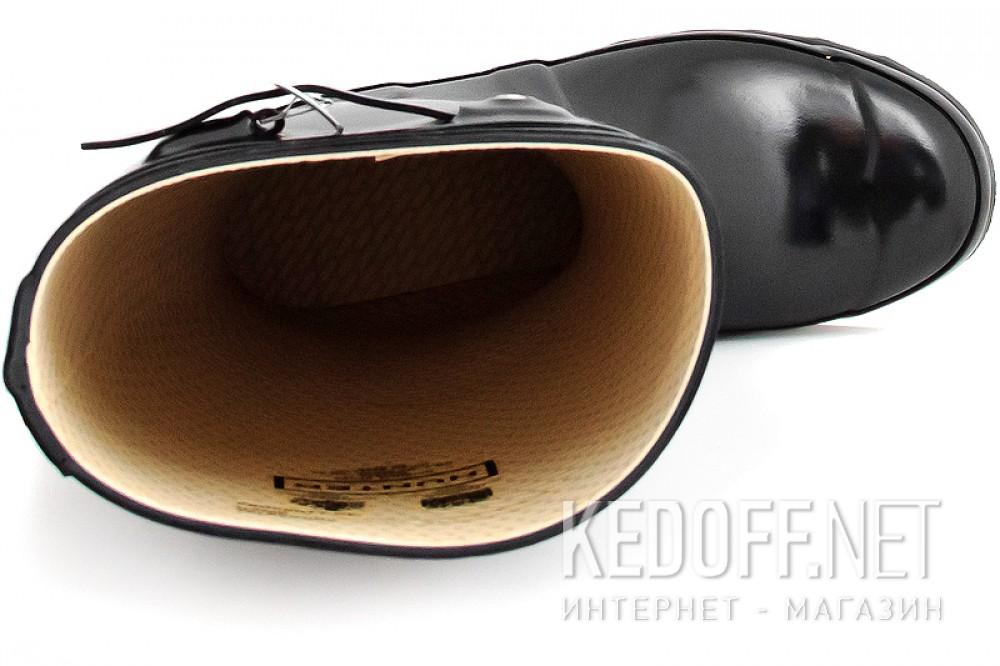 Резиновые сапоги Hunter 23616-2 Черные глянцевые