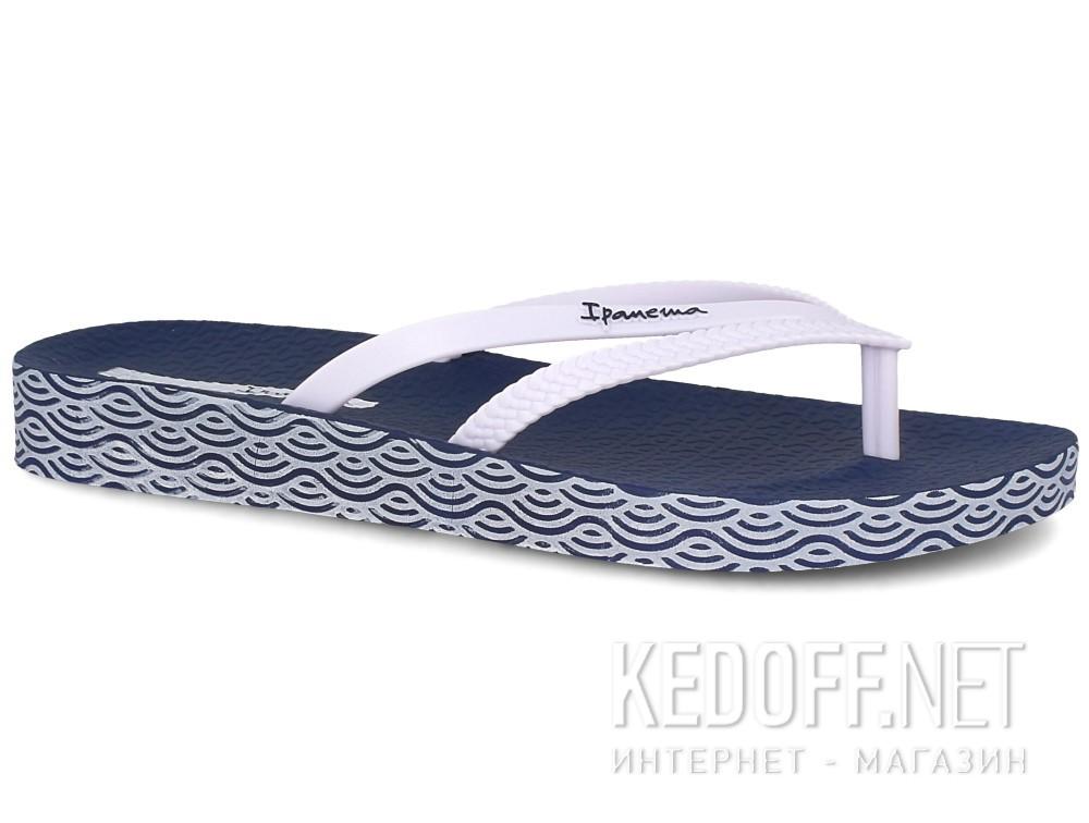 Шлепанцы Ipanema Bossa Soft Fem 82064-21308  (тёмно-синий/белый) купить Украина