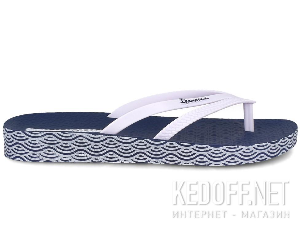 Шлепанцы Ipanema Bossa Soft Fem 82064-21308  (тёмно-синий/белый) купить Киев