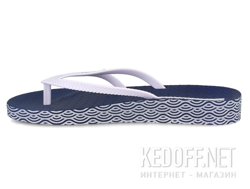 Оригинальные Шлепанцы Ipanema Bossa Soft Fem 82064-21308  (тёмно-синий/белый)