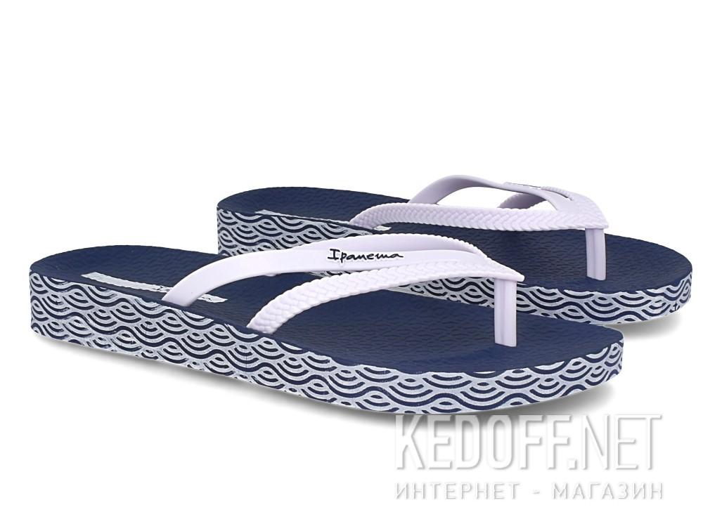 Шлепанцы Ipanema Bossa Soft Fem 82064-21308  (тёмно-синий/белый) описание