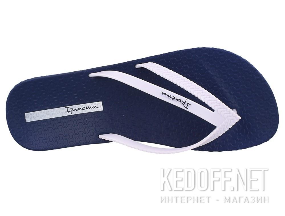 Цены на Шлепанцы Ipanema Bossa Soft Fem 82064-21308  (тёмно-синий/белый)