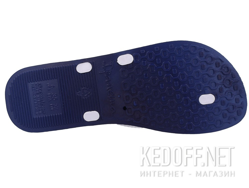 Шлепанцы Ipanema Bossa Soft Fem 82064-21308  (тёмно-синий/белый) все размеры
