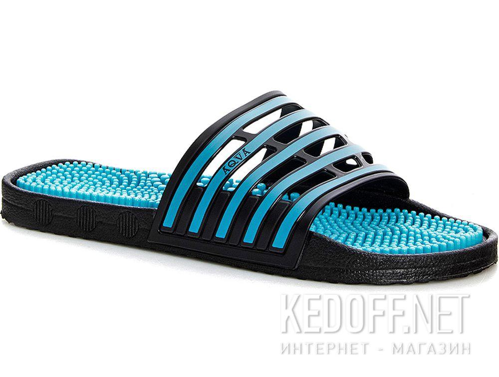 Купить Итальянские массажные тапки Coral Coast Massage H96 Made in Italy (тёмно-синий/бирюзовый/синий)