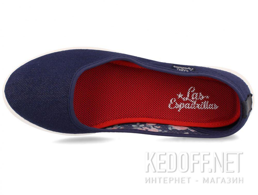 Оригинальные Женские балетки Las Espadrillas 1920-3 Lacoste Jeans