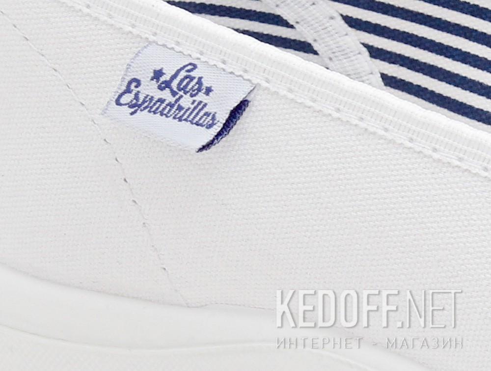 Балетки Las Espadrillas 400816-13CF   (белый) описание