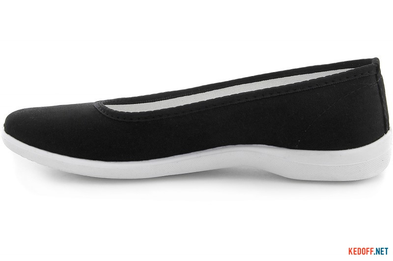 Жіночі балетки Las Espadrillas La Coste Black Canvas 300816-27