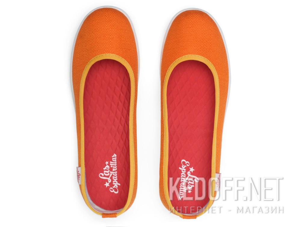 Балетки Las Espadrillas 300816-01   (оранжевый) купить Украина