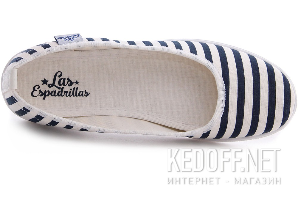 Women's ballerinas Las Espadrillas La coste Odessa Canvas 300816-1389