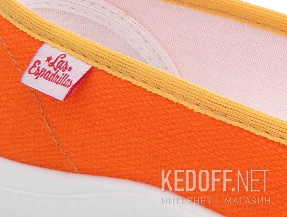 Women's ballerinas Las Espadrillas La coste Motion Foam 300816-01 Orange