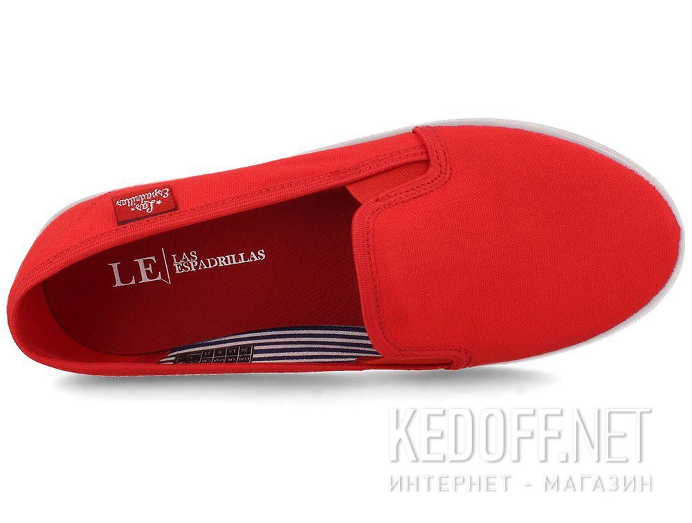 Жіночі балетки Las Espadrillas LE003-47 Lacoste Red описание