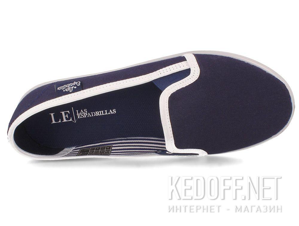 Женские балетки Las Espadrillas LE003-8937 Lacoste Original Navy описание