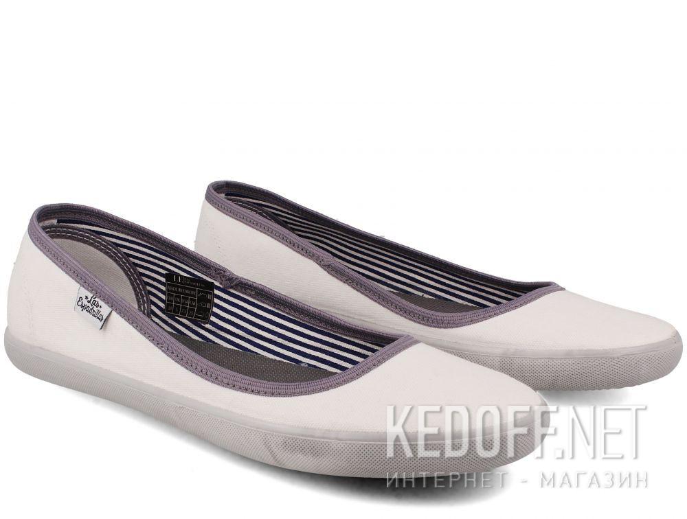 Жіночі балетки Las Espadrillas Eco Soft LE2203-1337 Lacoste Slim White купити Україна