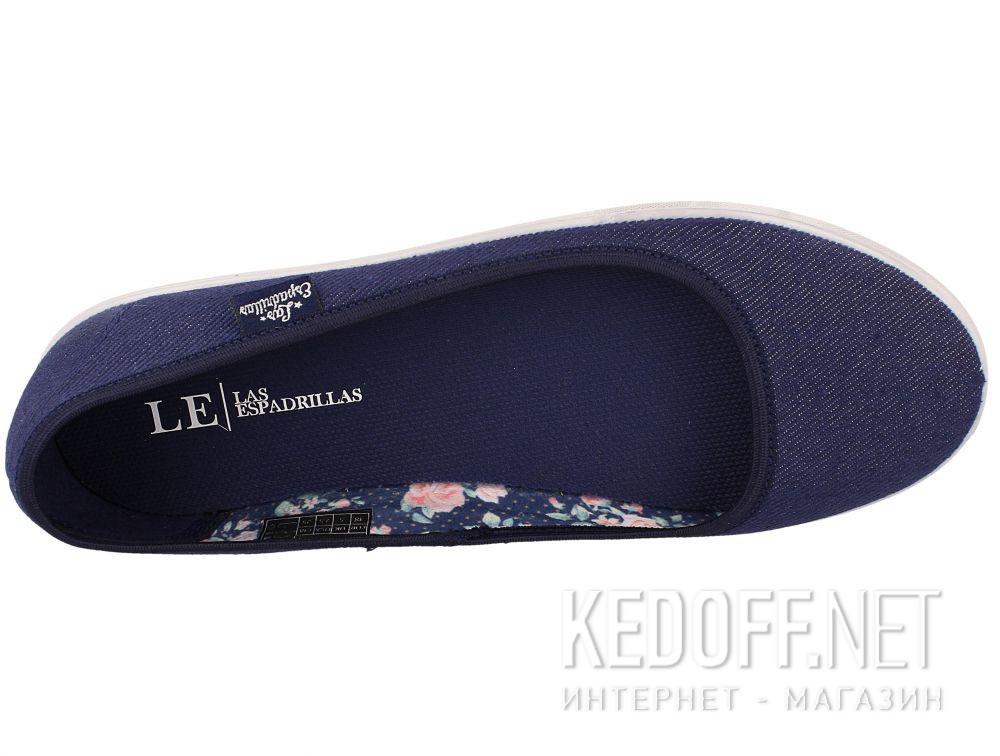 Жіночі балетки Las Espadrillas LE2203-4237 Lacoste Jeans Original описание