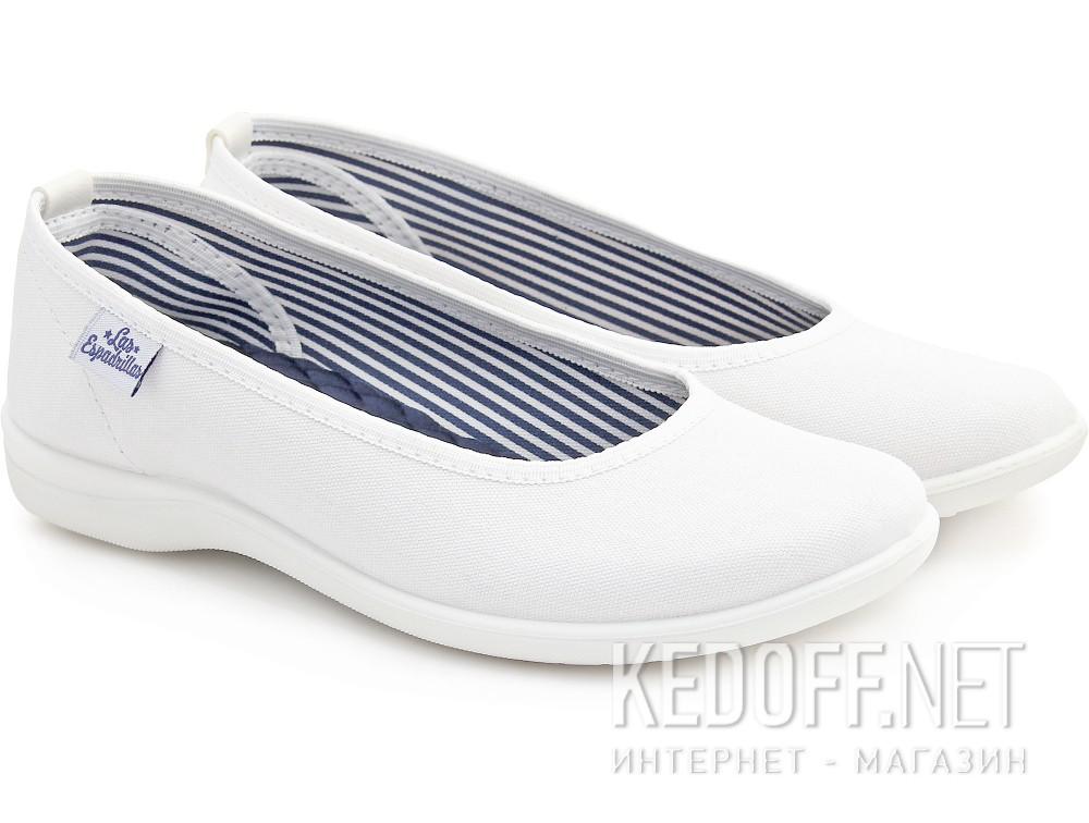 Купить Балетки Las Espadrillas 400816-13CF   (белый)