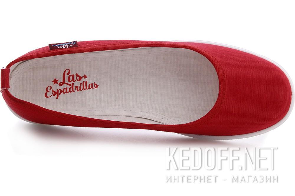 Жіночі балетки Las Espadrillas Red La coste 300816-47