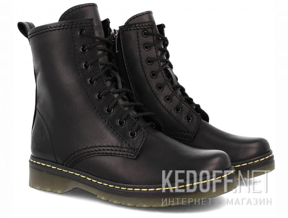 Оригинальные Ботинки Forester Serena Black Zip 1460-27