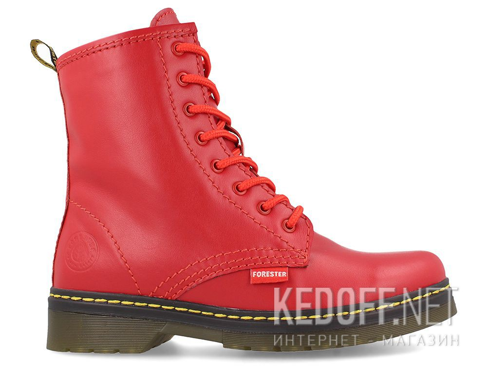 Женские ботиночки Forester Serena Red 1460-47 описание