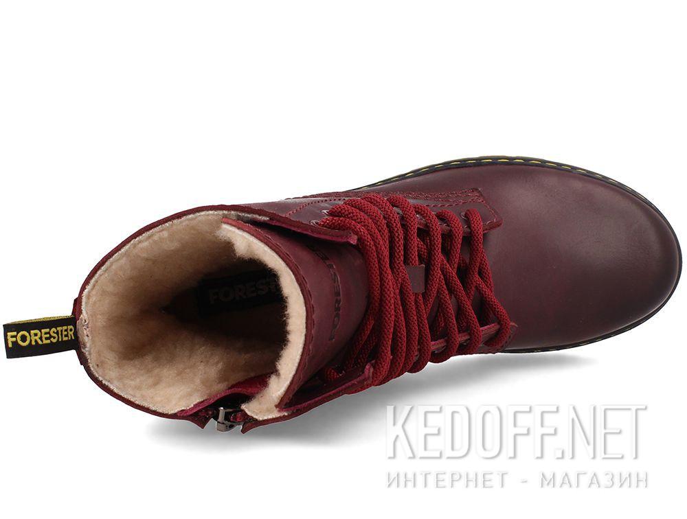 Жіночі черевички Forester Serena Bordeau 1919-48 описание