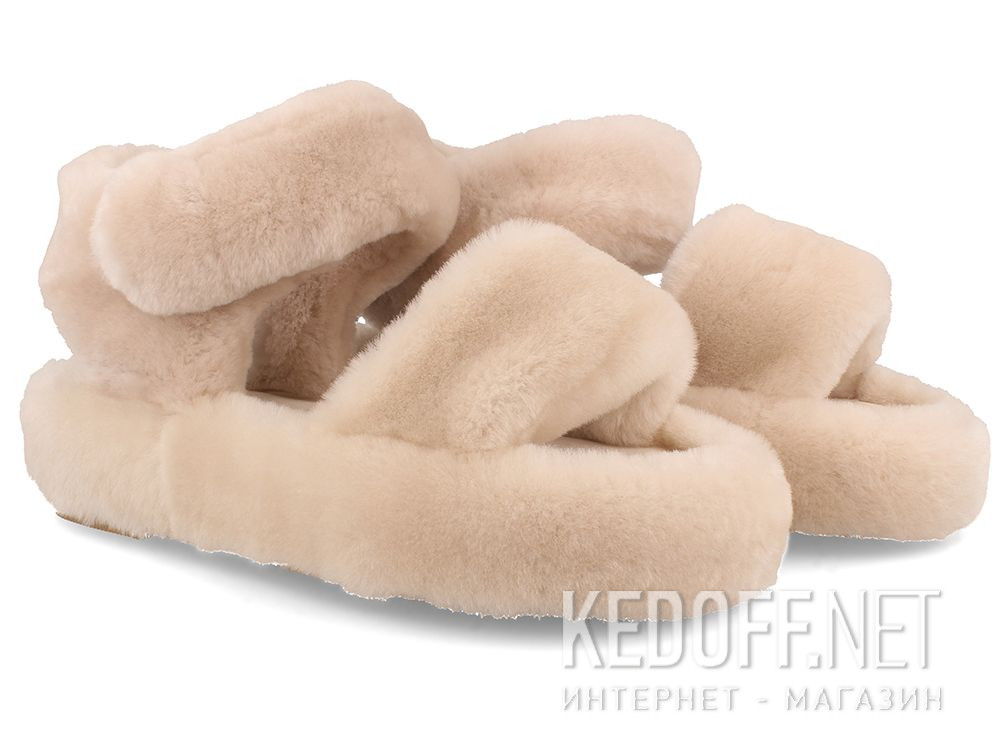 Women's sandals Forester Fur Sandals 1095-18 купить Украина