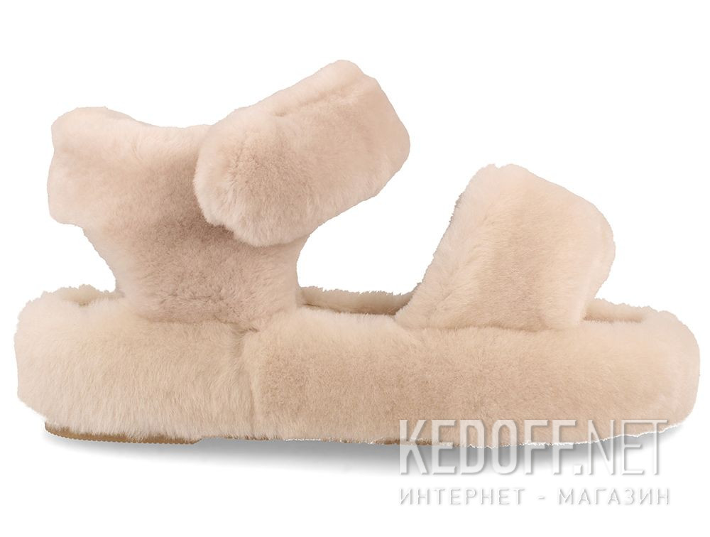 Women's sandals Forester Fur Sandals 1095-18 купить Киев