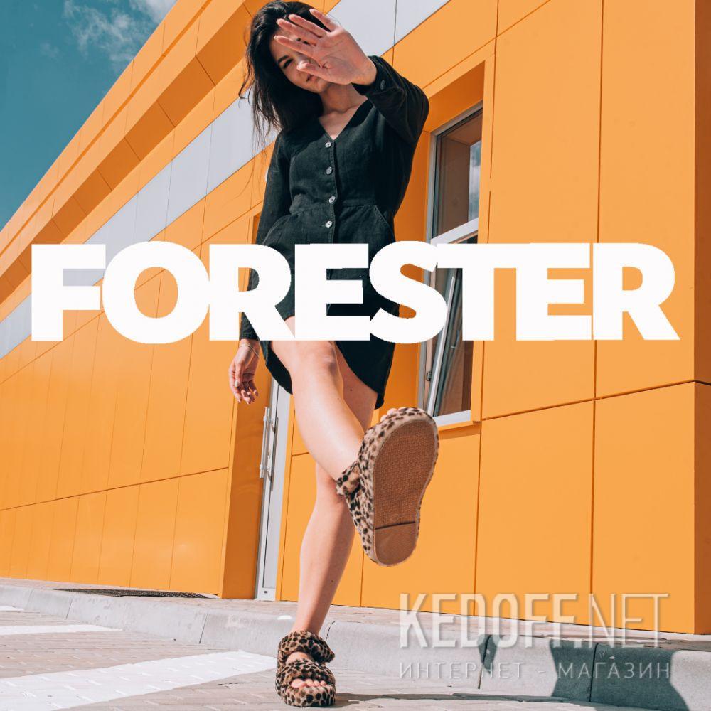 Жіночі босоніжки Forester Fur Sandals 1095-2145 все размеры