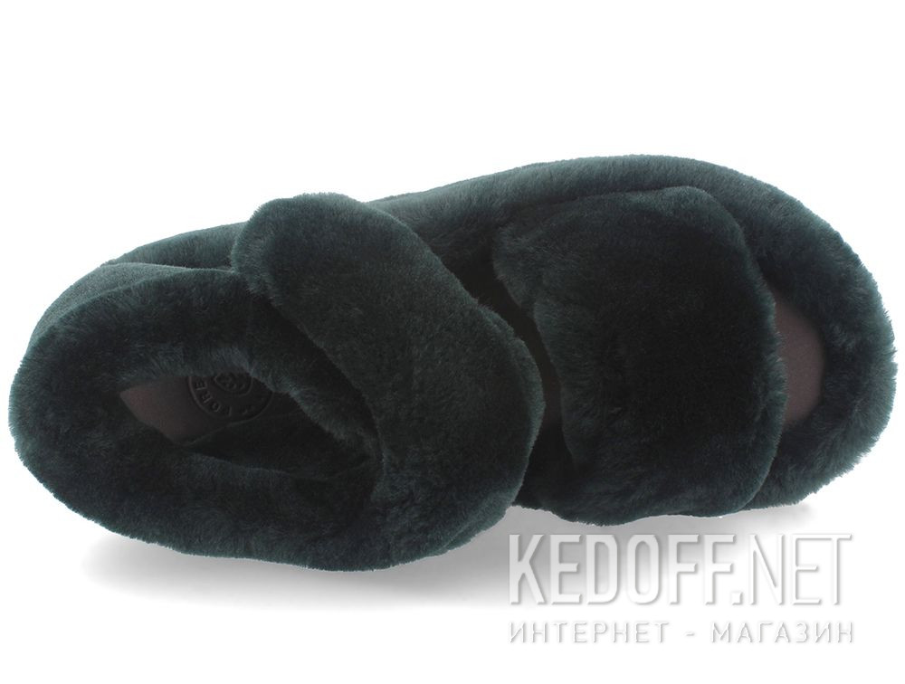 Жіночі босоніжки Forester Fur Sandals 1095-22 описание