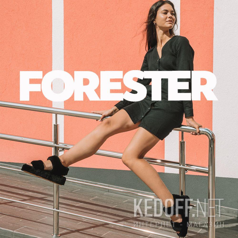 Женские босоножки Forester Fur Sandals 1095-27 все размеры