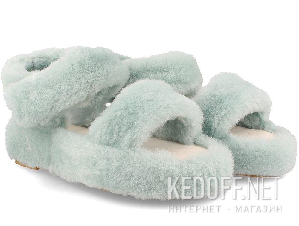 Жіночі босоніжки Forester Fur Sandals 1095-28 купити Україна