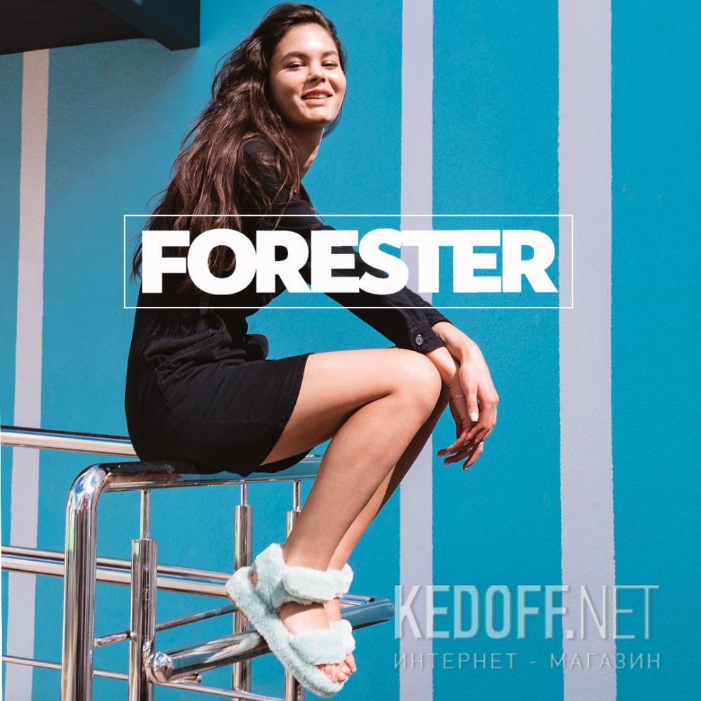 Жіночі босоніжки Forester Fur Sandals 1095-28 все размеры