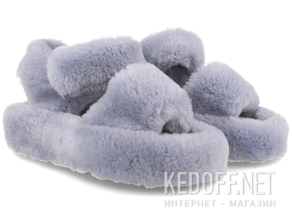 Жіночі босоніжки Forester Fur Sandals 1095-37 купити Україна