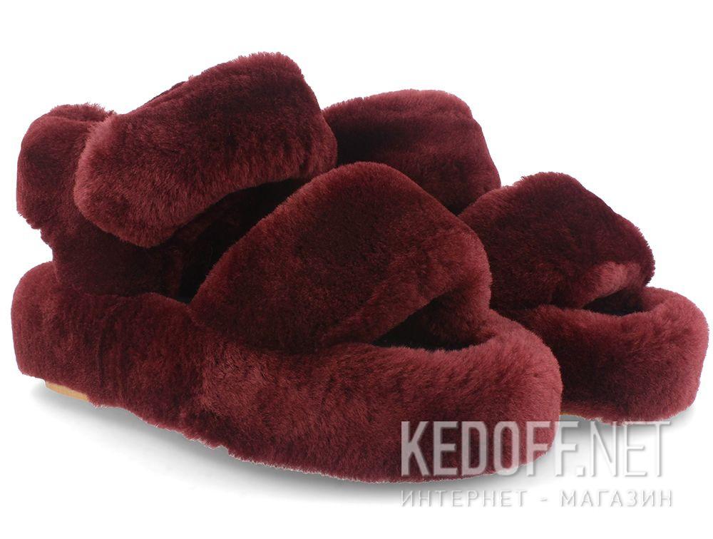 Women's sandals Forester Fur Sandals 1095-48 купить Украина