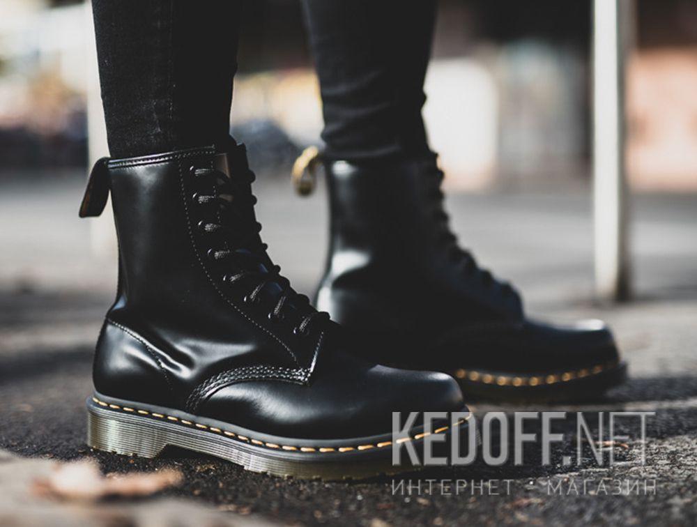 3e1a2fb3 женские ботинки Dr Martens Black Smooth 1460 Dm11821006 в магазине